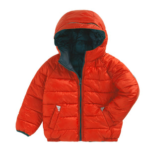 CLEMENTINE | TEAL REVERSIBLE PUFFER - Töastie