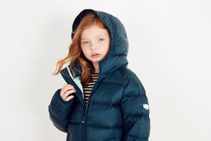 FOREST GREEN PUFFER JACKET - Töastie