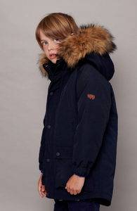 OCEAN NAVY NORTH STAR PARKA