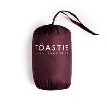 Load image into Gallery viewer, BLACK CHERRY PUFFER JACKET - Töastie
