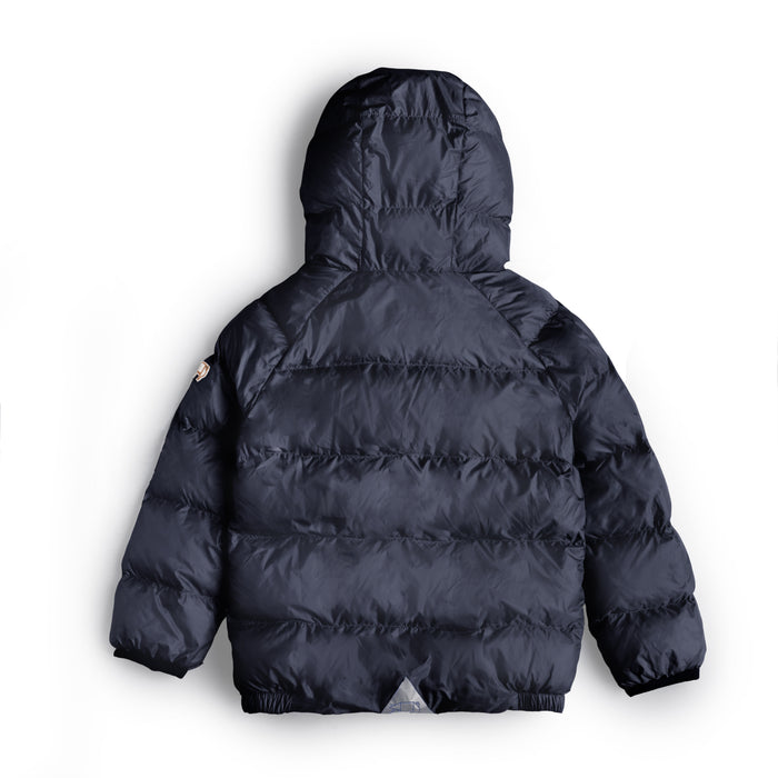 INK NAVY PUFFER JACKET - Töastie