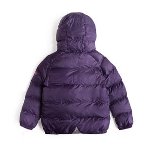 PURPLE & PINK PUFFER JACKET - Töastie