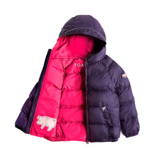 Load image into Gallery viewer, PURPLE & PINK PUFFER JACKET - Töastie