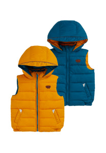You added OCHRE | OCEAN BLUE ECOREVERSIBLE GILET to your cart.