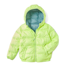 Load image into Gallery viewer, FLURO LIME PUFFER JACKET - Töastie