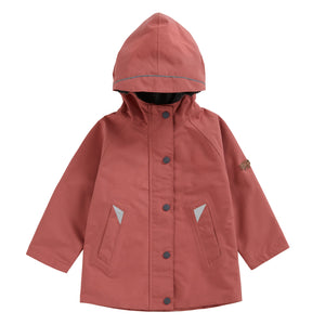 ROSE PINK WATERPROOF RAINCOAT - Töastie