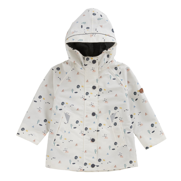 COASTAL WOODLAND WATERPROOF RAINCOAT - Töastie