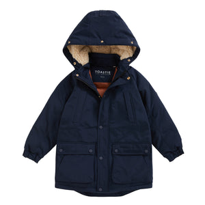 OCEAN NAVY NORTH STAR PARKA - Töastie