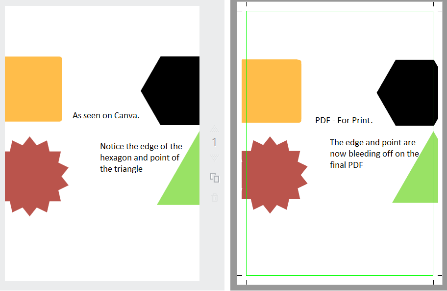 Creating leaflets/flyers with canva instead of word