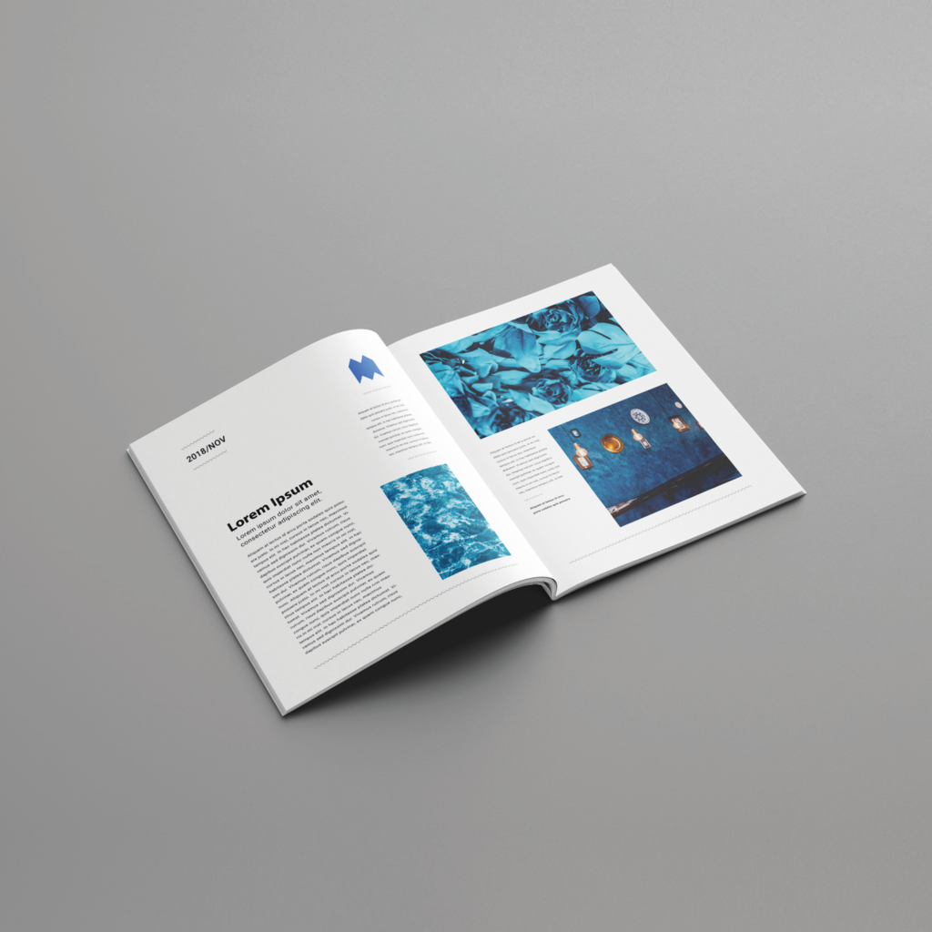 2 Page Brochure >> A5 150gsm 8pp