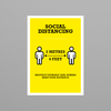 Social Awareness Yellow Style - A3 and A4 Posters