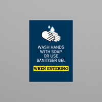 Social Awareness Stickers Blue Style - Wash A6