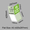 Green Party Folded Leaflets - A3 folded to A5 (8pp)