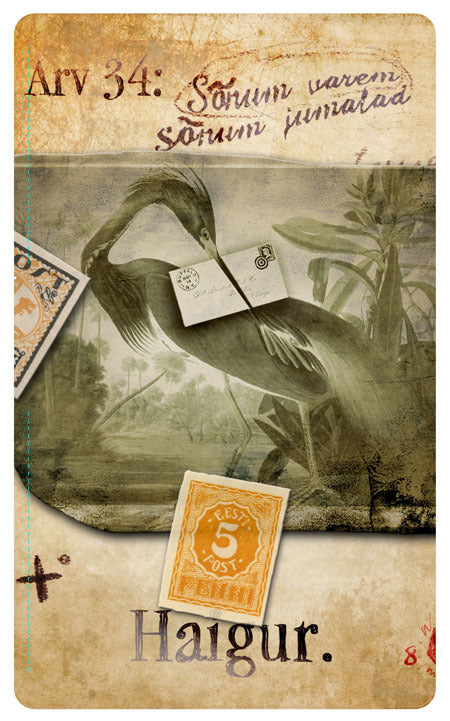"""Heron Messenger"" 54-card Pack"