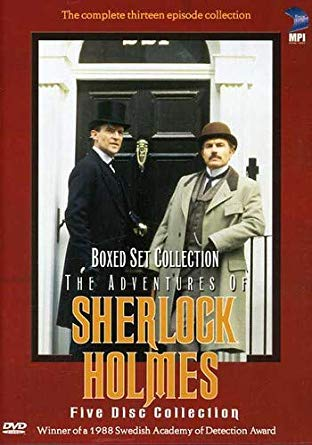 The Adventures of Sherlock Holmes 5-disc DVD Set