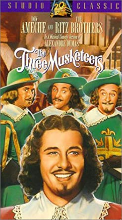 The Three Musketeers - 1939 Musical Comedy Version - VHS tape