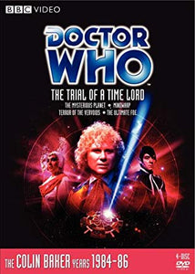 DOCTOR WHO Classic DVD: The Trial of a Time Lord 4-disc Set