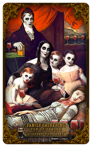 Crooked Way Gothic Tarot