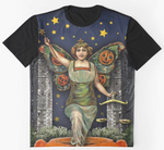 Halloween Angel Graphic T