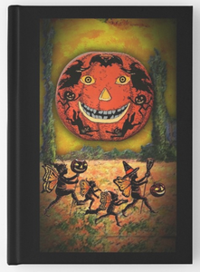 Halloween Family Deluxe Hardcover Journal