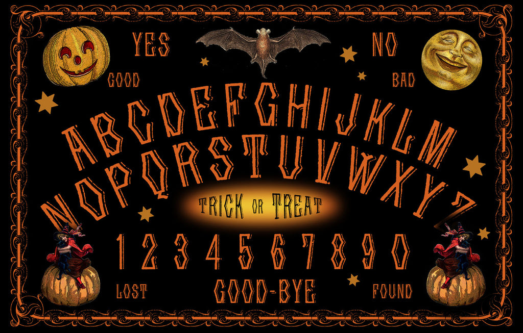 HALLOWEEN Talking Board Reading Mat