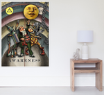 "OZ Oracle ""AWARENESS"" Wall Poster in 3 sizes"