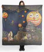 Halloween Land Reading Cloth