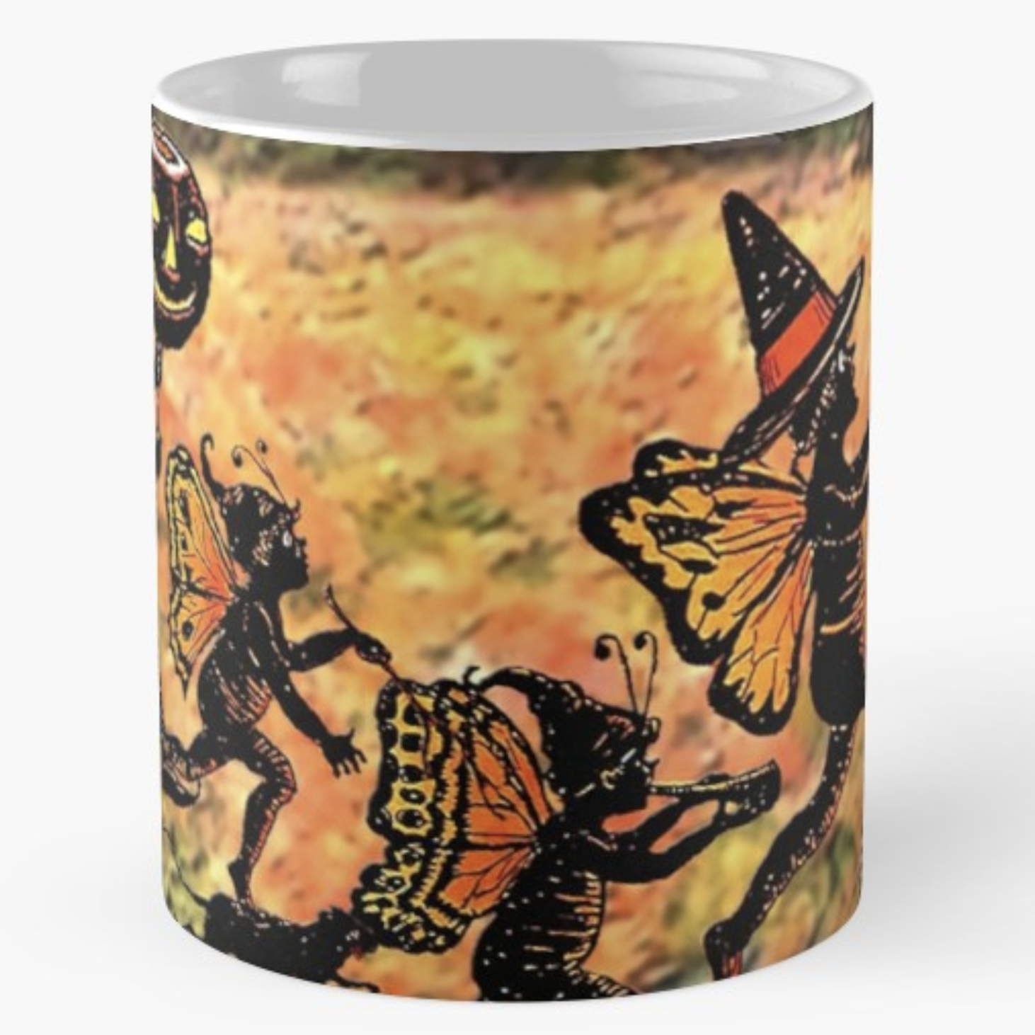 "Trick Or Tarot ""Fairy Family"" Halloween Mug"