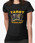 """Tarot Spoken Here"" Fitted Women's T"