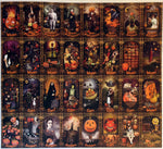 TRICK OR TAROT Uncut Sheets: Deluxe Edition Courts & Minors