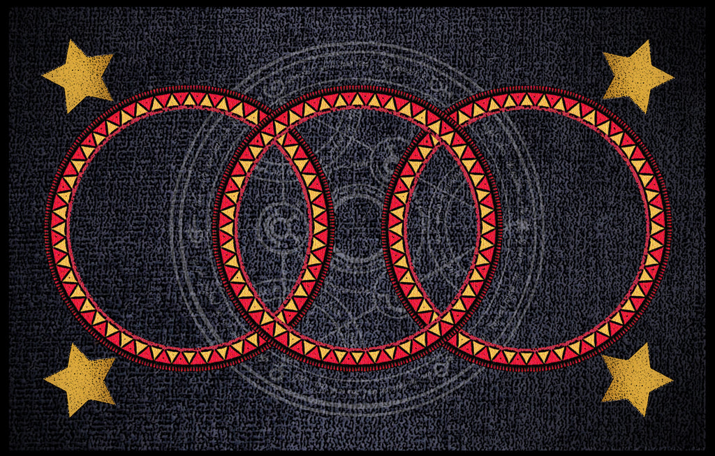 "Zirkus ""THREE RING"" Large Size Reading Mat"