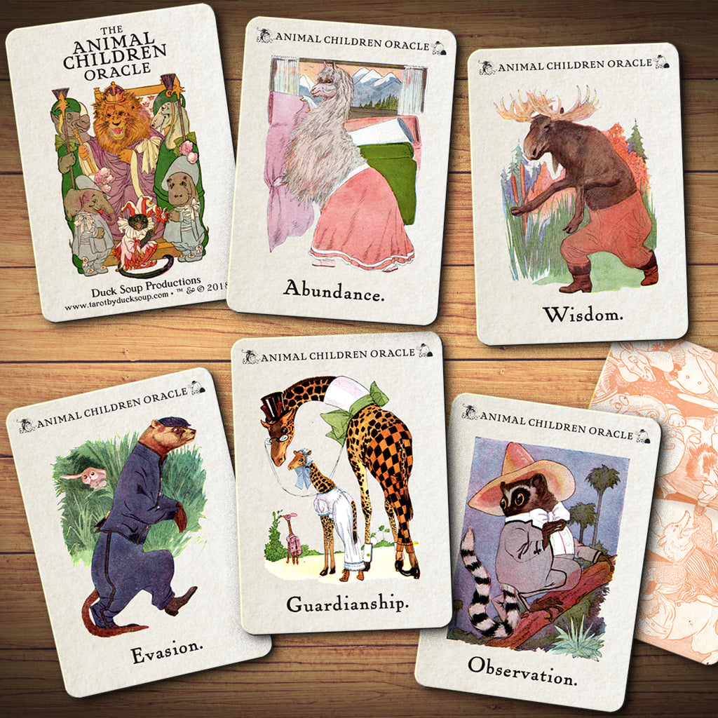 The ANIMAL CHILDREN Oracle