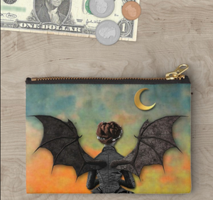 "CROOKED WAY Gothic Tarot ""Batgirl"" Pouch"