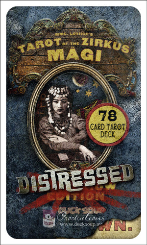Tarot of The Zirkus Mägi • DISTRESSED Edition