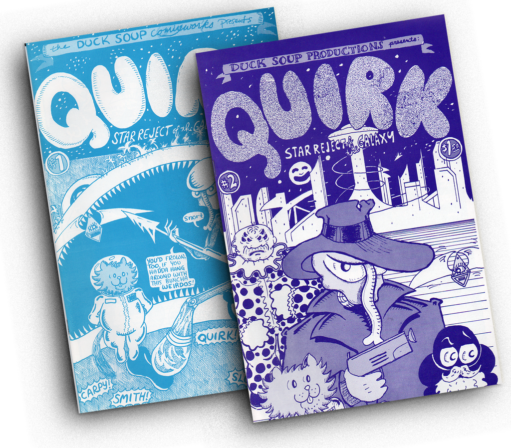 Vintage QUIRK Comic Books • 2-issue set