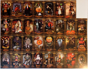 TRICK OR TAROT Uncut Sheets: Deluxe Edition MAJOR ARCANA