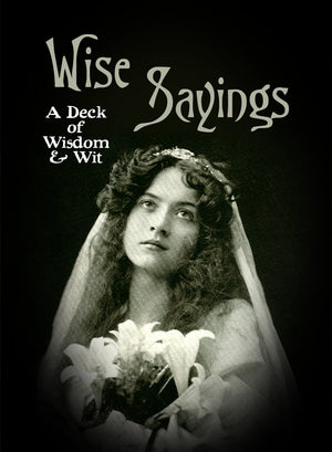 WISE SAYINGS: Cards of Wit and Wisdom