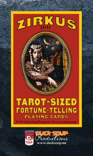 ZIRKUS brand Fortune Telling Playing Cards
