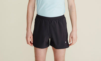 Euclid Shorts in Charcoal - rezlo-co