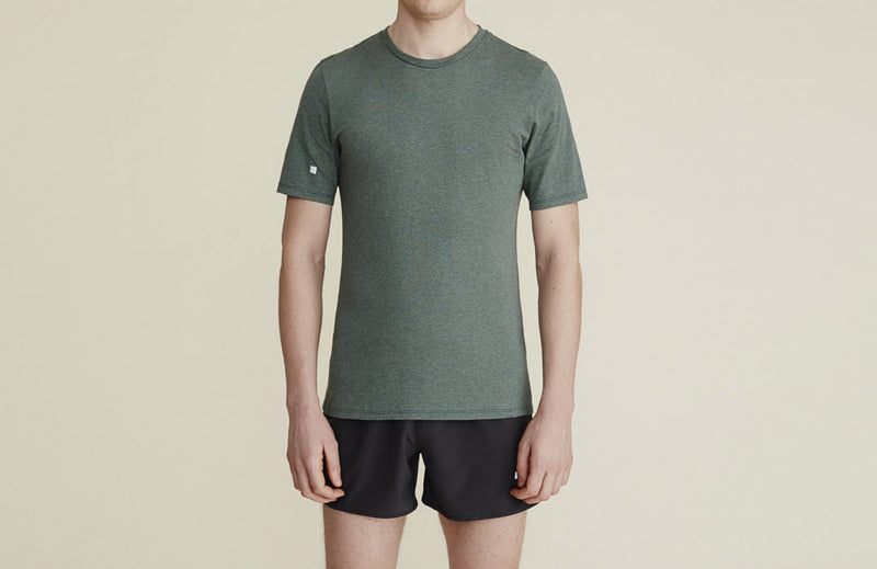 Thales Tee in Moss - rezlo-co