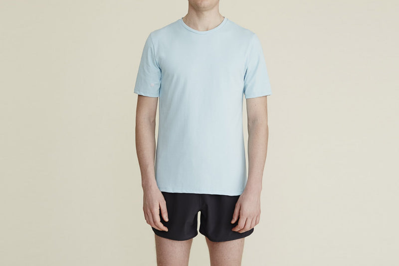 Thales Tee in Sky Blue - rezlo-co