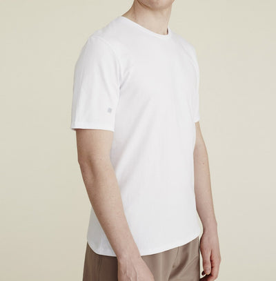 Thales Tee in White - rezlo-co