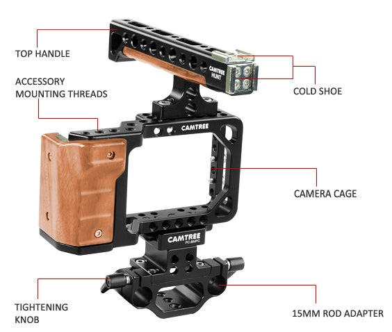 Cage for Blackmagic