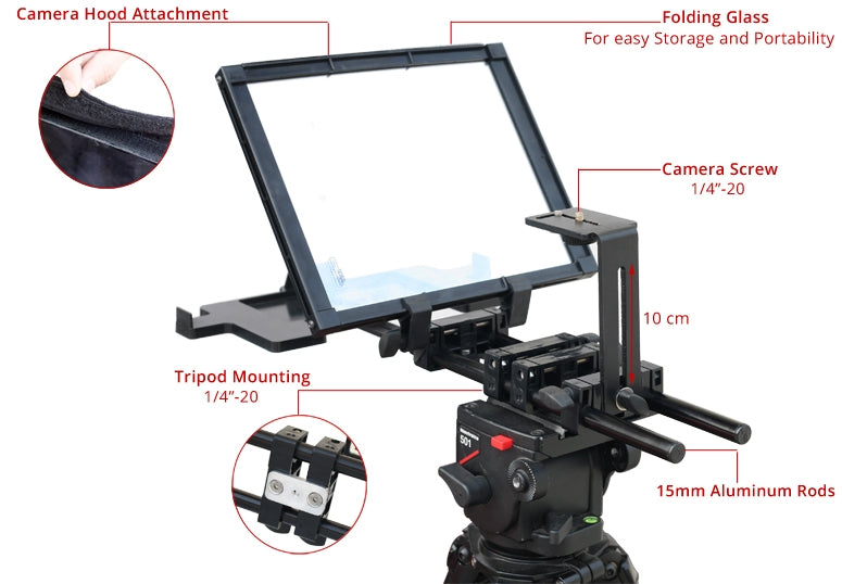 ipad teleprompters