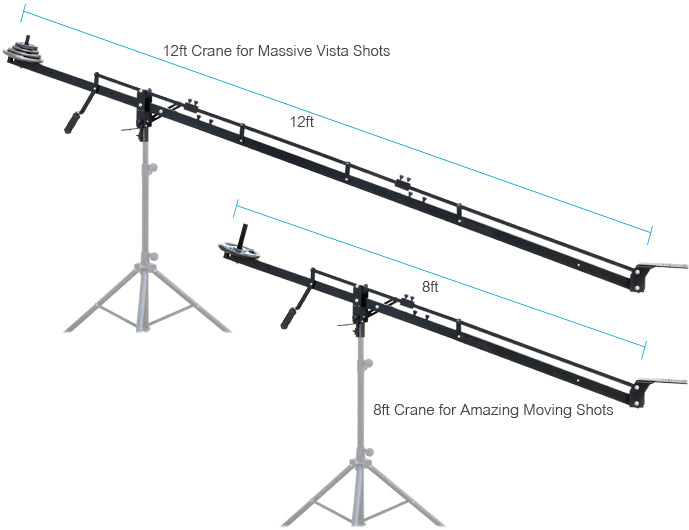 Lighweight Video Camera Jib