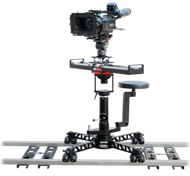 camera crane dolly system with bazooka