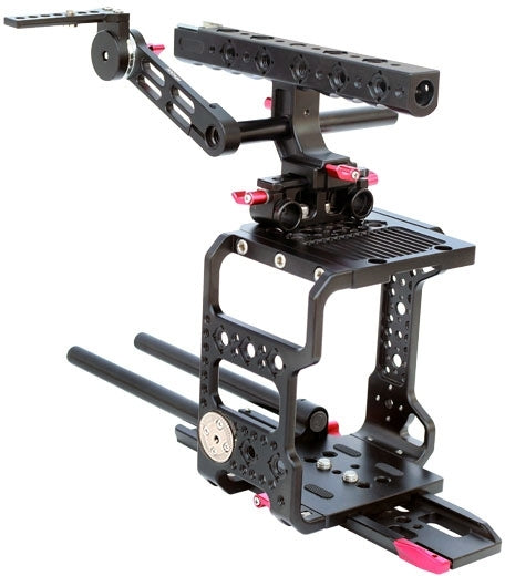 Red epic and red raven camera cage