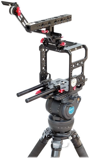 evf mount camera cage for red weapon and red raven