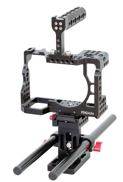 Camera Cage with Rod Support