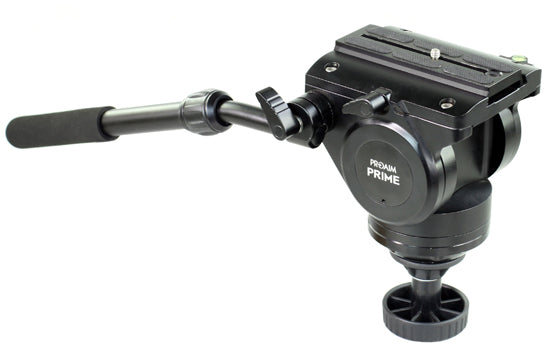 camera fluid head tripod